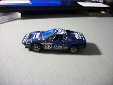 BBURAGO 1:43 FERRARI 308 GTB BLUE SABA RACER MADE IN ITALY