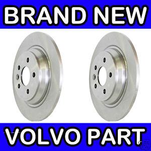 Volvo V70 Estate 2007-4//2017 1.6 2.0 Front Vented Brake Discs Set 300mm 5 Stud
