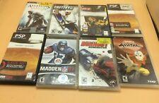 PSP Games (Large Lot)
