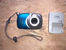 Great-Working CANON POWERSHOT D10 12.1MP DIGITAL UNDERWATER CAMERA w/ Charger