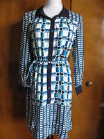 Anthropologies Maeve Stylish Multi color Belted Dress New