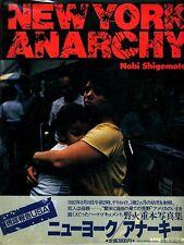 New York Anarchy - Rare 1983 Japanese Photo Book