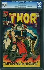 Thor #127 CGC 9.4 Marvel 1966 1st Pluto! Avengers! High Grade! B6 122 cm clean