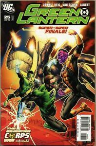 Green Lantern #25-2008 fn+ 6.5 1st Atrocitus 1st Kraken 1st app Scar 1st Munk