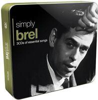 Jacques Brel - Simply Brel [CD]