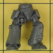 Warhammer 40K marines espaciales da empresa veteranos Alamuerte Terminator piernas