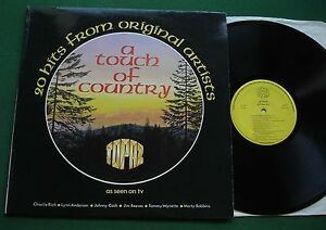 A Touch of Country Charlie Rich Lynn Anderson Johnny Cash + TOC/R 1976 LP
