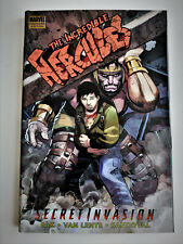 Incredible Hercules Secret Invasion hardcover NEW