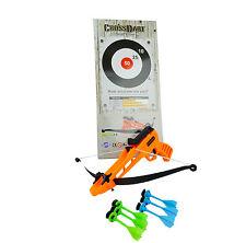 CROSSDART ARCHERY SET - Cross Bow and Arrow Toy Kids Family Gift