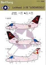"Bestfong Decals 1/72 LOCKHEED S-3B VIKING ""SCREWBIRDS"" VS-33 & VS-41"