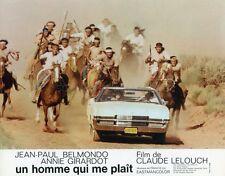 BELMONDO ANNIE GIRARDOT UN  HOMME QUI  ME  PLAIT 1969 4 PHOTOS D'EXPLOITATION