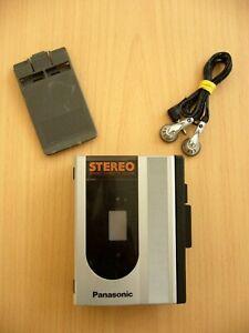 PANASONIC Stereo Cassette Player (RQ-J60) Kassettenspieler m. Ohrhörer / WALKMAN