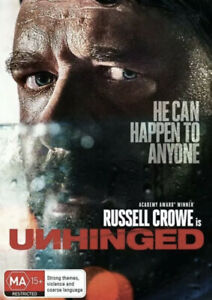 UNHINGED DVD-NEW & SEALED-FREE SHIPPING REGION 4 😊 RUSSELL CROWE