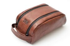 Personalised Mens Wash bag Toiletry travel accessories fathers day gift dopp kit