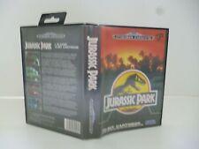 ☺ Jeux Mega Drive Sega Jurassic Park Vendu Avec La Boite
