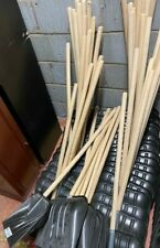 More details for *new* snow shovels spade scoop hickory handles *job lot of 42* unused  - cis s81