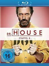 DR.HOUSE SEASON 8 Robert Sean Leonard, Omar Epps, Hugh Laurie 5 BLU-RAY NEU