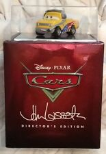 Disney Cars NEW 11 disc set Directors Edition 3D + Bluray + DVD + toy-no digital