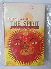 The Language of the Spirit - Jane Hope
