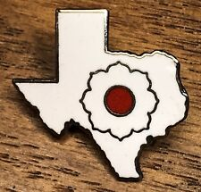 **Rare Unique Vintage State Of Texas Lapel Hat Pin Pinback ~Travel Souvenir