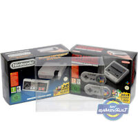 1 x SNES Mini BOX PROTECTOR for Nintendo NES Classic Game Console 0.5mm Plastic