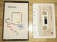 1984 Apple A Guided Tour of Macintosh Cassette in Case 128K M0001 Mac RARE NICE!