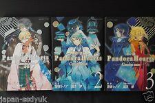 JAPAN Pandora Hearts novel Caucus race vol.1~3 set