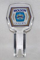 MOLSON GOLDEN ACRYLIC BEER TAP HANDLE
