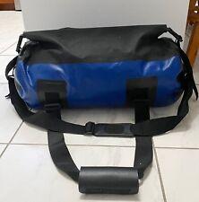 Seattle Sports Waterproof Dry Floating Rolltop Duffel Bag Blue 24L x 12H USA