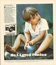 Publicité 1964  Appareil photo ASAHI PENTAX spotmatic