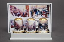 Christmas 1914 Keep The Home Fires Burning BOX Set of 3 Thimbles+Card B/187