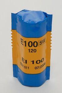 1 ROLL of KODAK E100SW 120 COLOR SLIDE FILM! FREEZER KEPT! EXPIRED 07/2004!
