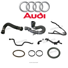 NEW Audi A4 Quattro Bulk Upper Lower Radiator Water Hose Pipes O Rings Seals Kit