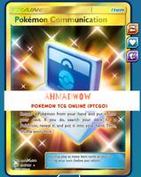 Pokemon communication 196/181 Secret Rare Full Art FA Pokemon TCG Online PTCGO