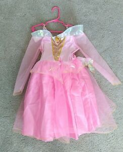 Disney Princess Dress, Girls, Size 4-6x, Pink, Sleeping Beauty, Aurora, Costume