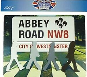 Abbey Road Beatles Silhouttes Computer Mouse Mat 220mm x 180mm (gg)