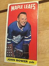 JOHN BOWER 1964 TOPPS #40 TALLBOY Toronto Maple Leafs