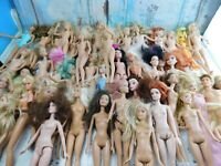 Barbie Dolls of 43 Nude Dolls, Mattel ,Disney & Other  Custom, OOAK,  Play