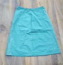 Boden Ladies Fabulous Cotton Chino Green Skirt. Size 6R. Brand new SAMPLE