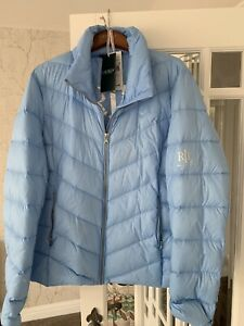 Ralph Lauren Ladies Down Fill Packable Jacket XL Fits Up To Size 18 Comfortably