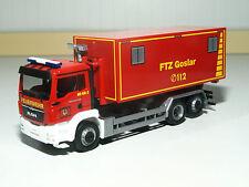 Herpa MAN TGS M Wechsellader Feuerwehrtechnische Zentrale Goslar 092722