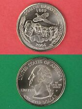2006 P South Dakota State Quarter From Uncirculated Mint Sets Flat Rate Shipping
