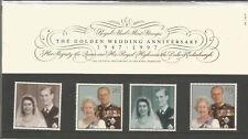 1997 Uk Presentation Pack The Golden Wedding Anniversary no 281 7.10.97