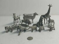 VINTAGE PEWTER MINIATURE  11pc lot