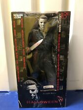 """McFarlane Movie Maniacs 18"""" Motion Activated Figure Michael Myers Halloween MM87"""