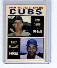 Ron Santo & Billy Williams 1960 Chicago Cubs rookie stars Pastime series #7