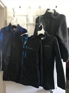 Mixed Lot Of 4 Columns Boys Size Large 14-16 Hoodie Pullover Full zip Jackets