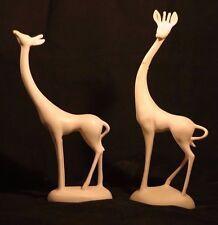 Art Deco Modern Signed Hallfield California Pottery Mid Century Giraffe Figurine