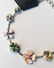 Pilgrim Swarovski Crystal Bracelet. Sterling Silver Plated. Price $12.95
