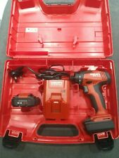 Hilti SFD 2-A Cordless Screwdriver with 2x batteries 4.0 Ah and charger